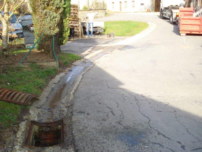 Remplacement d'une tuyauterie d'égouttage